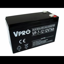Akumulator VPRO 7 Ah 12V...