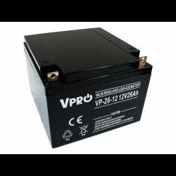 Akumulator VPRO 26 Ah 12V...
