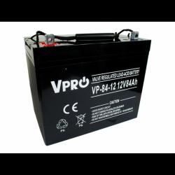 Akumulator VPRO 84 Ah 12V...